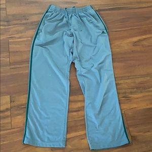 Men's M Adidas track sweatpants pants